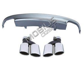 Диффузор + насадки S7 для AUDI A7 4G 2010-2014