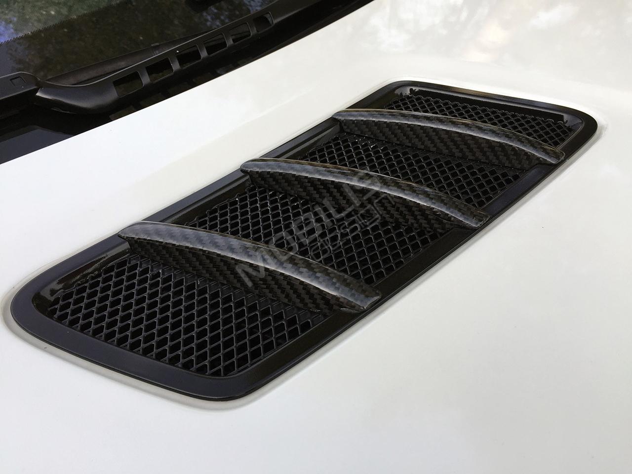 Mercedes-Benz GL63 2014 - замена хромированных элементов на карбон