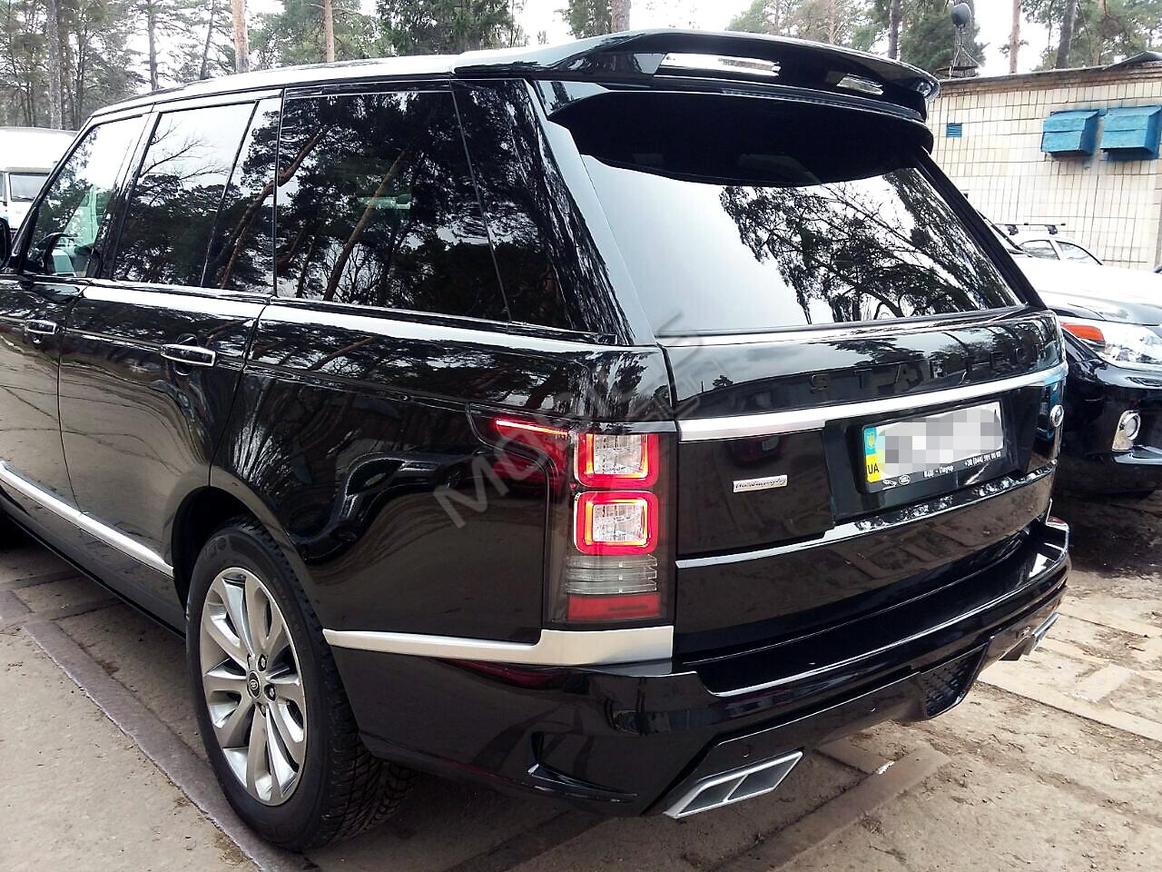 Range Rover VOGUE 2015 - установка аэродинамического обвеса STARTECH + детализация Autobiography.