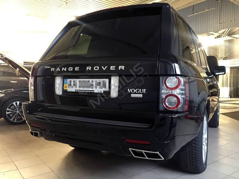 Range Rover VOGUE 2011 - установка накладок STARTECH