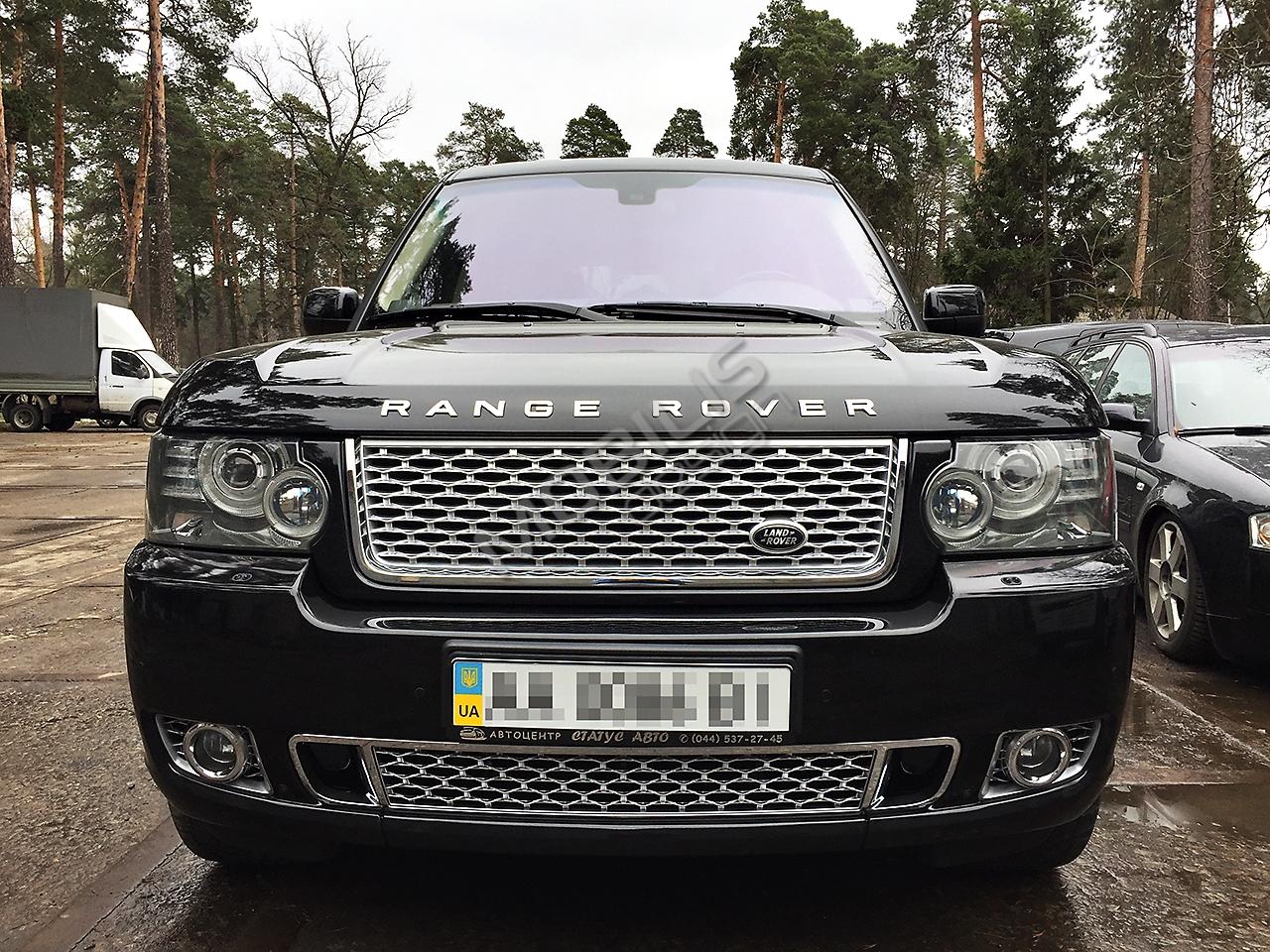 Range Rover VOGUE 2011 - установка аэродинамического обвеса Autobiography