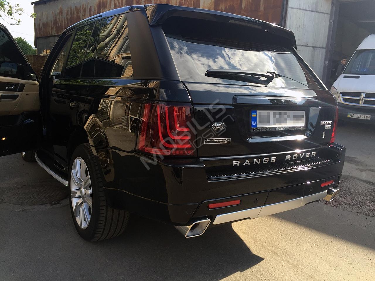 Range Rover SPORT 2006 - рестайлинг в 2010 год + установка обвеса Autobiography.