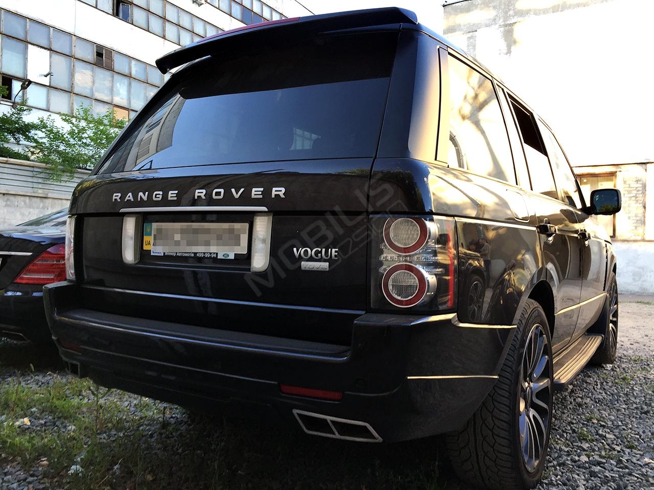 Range Rover VOGUE 2012 - установка аэродинамического обвеса STERTECH