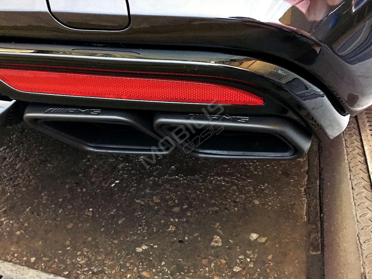 Mercedes-Benz S 400 2015 - установка аэродинамического обвеса S63 от AMG