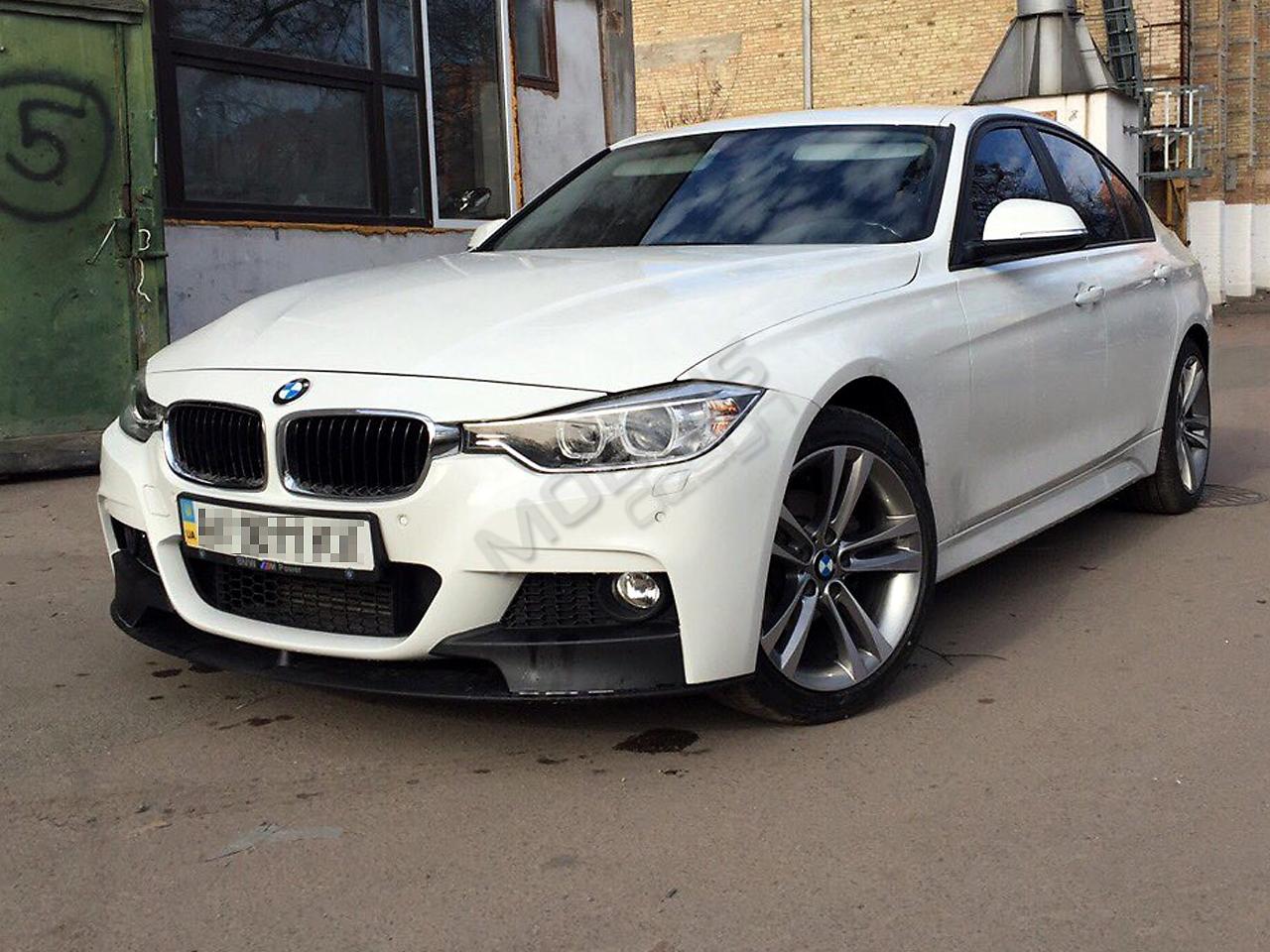 BMW 320 - рестайлинг + установка аэродинамического обвеса M-Performance