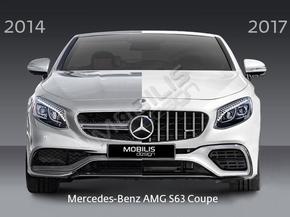 Рестайлинг комплект S63 AMG для Mercedes-Benz S-Class Coupe C217 / W217