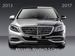 Рестайлинг комплект Maybach для Mercedes-Benz S-Class W222