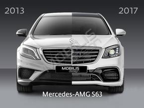 Рестайлинг комплект S63 AMG для Mercedes-Benz S-Class W222